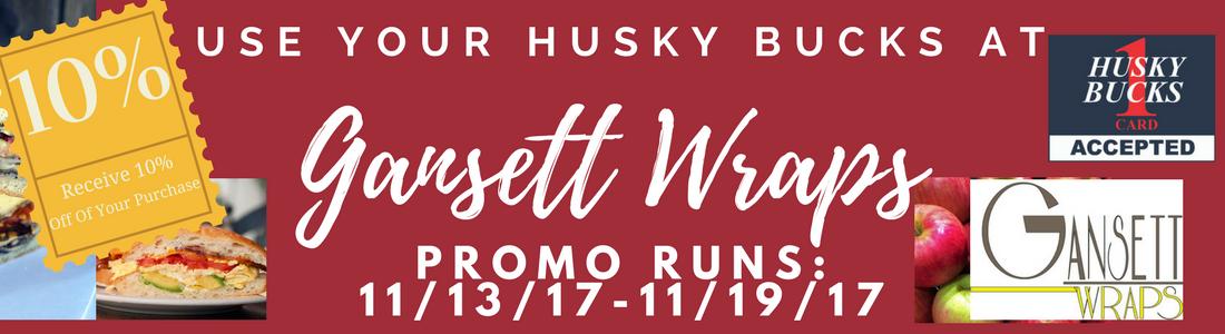 Husky Bucks Deal