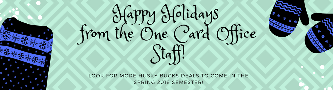 Happy Holidays from the One Card Office.